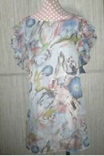 Silk Floral Dresses for Women with Ruffle