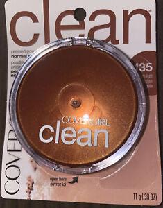Covergirl Clean Pressed Powder, 135 Medium Light
