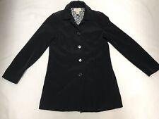 Merona Black Long Dressy Jacket Coat Size Small