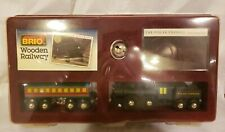 BRIO Wooden Railway #33426 Polar Express Gift Set works w Thomas rare