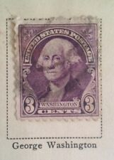 George Washington 3 Cent Stamp US Postage Rare VHTF