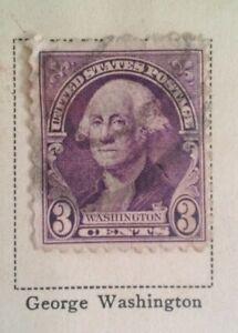 George Washington 3 Cent Stamp US Postage Rare VHTF