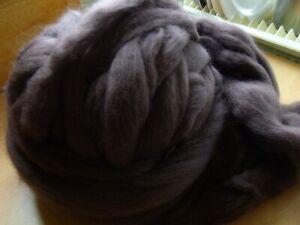 100 grams Merino Spinning Wool Free P&P Raven Black Spinning, Felting