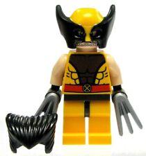 LEGO Marvel Super Heroes Wolverine Minifigure [Brown Costume Loose]