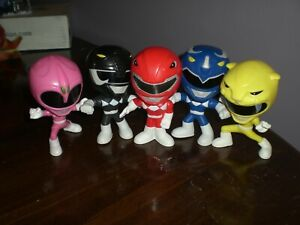Power Rangers Burger King Action Figure Lot Preowned b