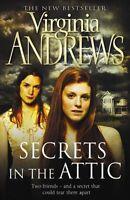 SECRETS IN THE ATTIC ___ VIRGINIA  ANDREWS __ BRAND NEW __ FREEPOST UK