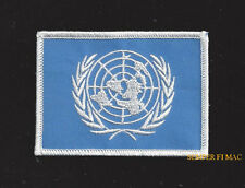 UNITED NATIONS UN FLAG ARM HAT PATCH US ARMY MARINE NAVY AIR FORCE USCG VETERAN