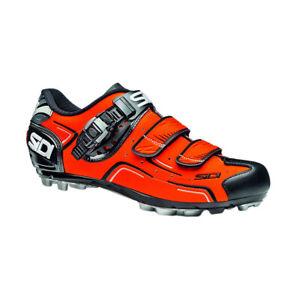 Sidi Buvel Men's MTB Shoes Orange Fluo/Black EU 44