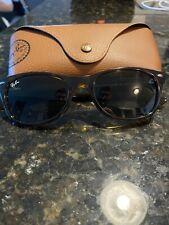 Ray Ban New Wayfarer 901 52 18 3N Tortoise Sunglasses With Case.