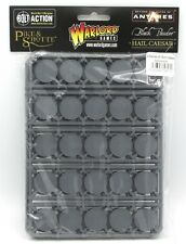 Warlord Games 845200001 3 Frames of 25mm Bases (75 Round Plastic) Bolt Action