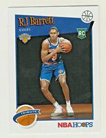 2019-20 Panini NBA Hoops TRIBUTE #298 RJ BARRETT RC Rookie Knicks QTY AVAILABLE