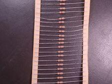 Lot of 50 ZOR-25-R-520R Yageo Metal Film Resistor 0 Ohm Jumper 250mW 1/4W Axial