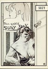 POSTCARD / CARTE POSTALE / ILLUSTRATEUR / BORDEL / LIBERATORE / 1983 SUSY
