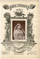 Lemercier et Cie, Paris-Théâtre, Marie-Caroline Miolan-Carvalho (1827-1895), cha