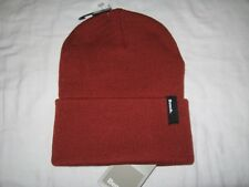 BNWT - BENCH Cuffed  Knitted  Beanie Hat  Autumn Red