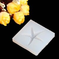 Silicone DIY Starfish Mould Molds Resin Jewelry Pendant Tool Making Tools CraftA