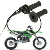 2pcs 7/8 Throttle Handle Grip Cable Assembly For ATV Pit Dirt Bike 90 110 125CC