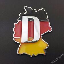 Metal Germany Flag Sport Car Auto Trunk Lid Rear Emblem Car Badge Decal Sticker