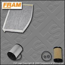 KIT Di Servizio Per VW Golf mk6 1.6 TDI FRAM OLIO CARBURANTE CABIN Filtri (2009-2012)