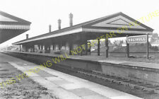 Solihull Railway Station Photo. Olton - Knowle. Birmingham to Hatton Line. (1)
