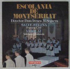 Escolania de Montserrat 45 tours Salve Regina Espagne