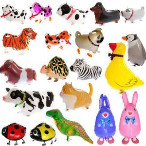 10stk. Airwalker Foil Balloons Animal Figures Balloon Walking Pets Animal Balloons