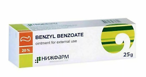 Benzyl benzoate 20% 25 g treatment of scabies, lice, antiparasitic