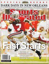 1st TED GINN JR Sports Illustrated 2005 Ohio State Buckeyes NEWSSTAND Gem! NIB!