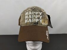343ec22c1ed32 Duck Dynasty Happy Baseball Cap Hat Phil Robertson Hook   Loop Realtree NEW  NWT
