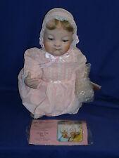 Vintage Kaylee Sleepy Time Tots Porcelain Baby Doll by Paradise Galleries Mint