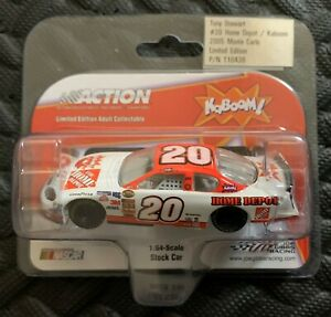 Action 2005 Tony Stewart #20 Home Deport Kaboom NASCAR 1:64 Die Cast - New!