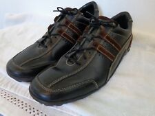 COLE HAAN Men OXFORD LACE UP SHOES SIZE 10 Medium Black/Brown