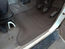 To suit Toyota  Landcruiser 75 Series  Floor Mats front pair 3D Rubber Vinyl