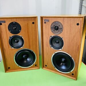 Celestion Ditton 22 HiFi Loudspeakers Audiophile Speakers Vintage TESTED WORKING