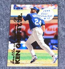1999 FLEER WHITE ROSE KEN GRIFFEY JR. CARD SEATTLE MARINERS RARE!!!!
