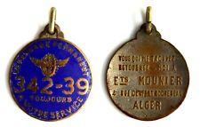 Medaglia Con Smalti Riparazioni Biciclette - Depannage Permanent 342-39 Toujours