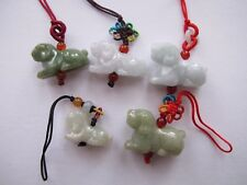 100% Natural Type A Jadeite Jade Chinese Zodiac pendant Dog pick your choice