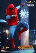 Hot Toys 1/6 MMS414 Spider-Man: Homecoming - Spider-Man (Homemade Suit Version)