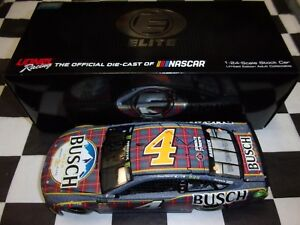 Kevin Harvick #4 Busch Beer Flannel 2018 Fusion Action 1:24 scale NASCAR ELITE