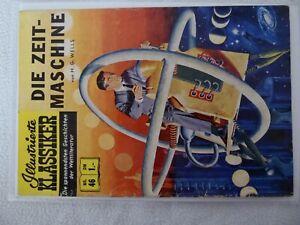 ILLUSTRIERTE KLASSIKER BSV Verlag Nummer 46 DIE ZEITMASCHINE in 1.Auflage