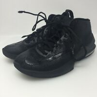 Nike Air Max Infuriate Mid Style AA4438-001 Black Sneakers Men's Size US 7.5