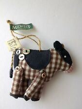 Cow Ornaments Midwest of Cannon Falls Collectibles Vtg Hudsons Christmas tree