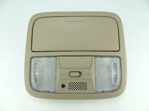 Honda Accord Overhead Console Dome Light 2003 2004 2005 2006 2007 Tan