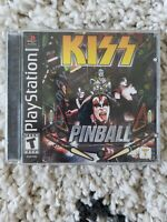 Kiss Pinball - PS1 PS2 Complete Playstation Game