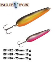 BLUE FOX INKOO® Spoons 50mm - 75mm 12g - 26g Various Colours