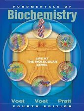 Fundamentals of Biochemistry: Life at the Molecular Level, 4th Edition by Voet,