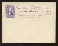 Exposition philatélique 1913 Monnaie de Paris enveloppe de papeterie