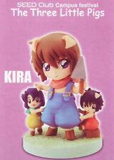 Gundam Seed Club Kira Yamato Figure + 9 cards MegaHouse Authentic picture studio