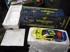 1999  Dale Earnhardt Sr Nascar #3 Wrangler Car 1:18 Limited Edition w/ COA & Box