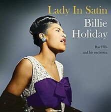 Billie Holiday Lady in Satin LP 180g 2016 MINT Remaster Clear Vinyl